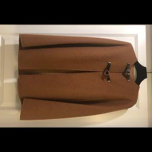 Zara Woman Wool Cape Coat